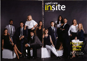Aged Care Insite magazine cover