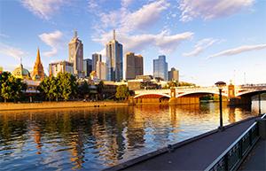 A decorative image of Melbourne