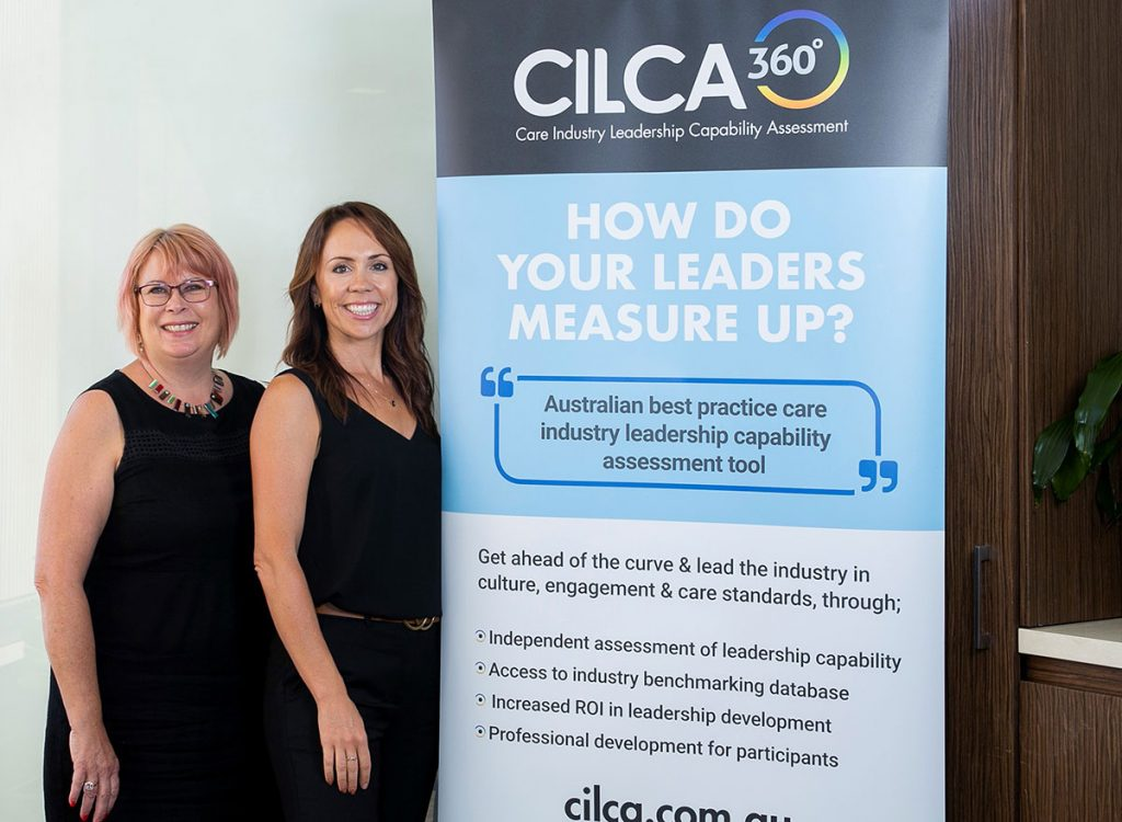 Laura and Jayne of 3D Recruit during CILCA 360 event