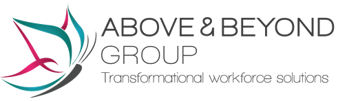 Logo of Above and Beyond Group - transformational workforce solutions