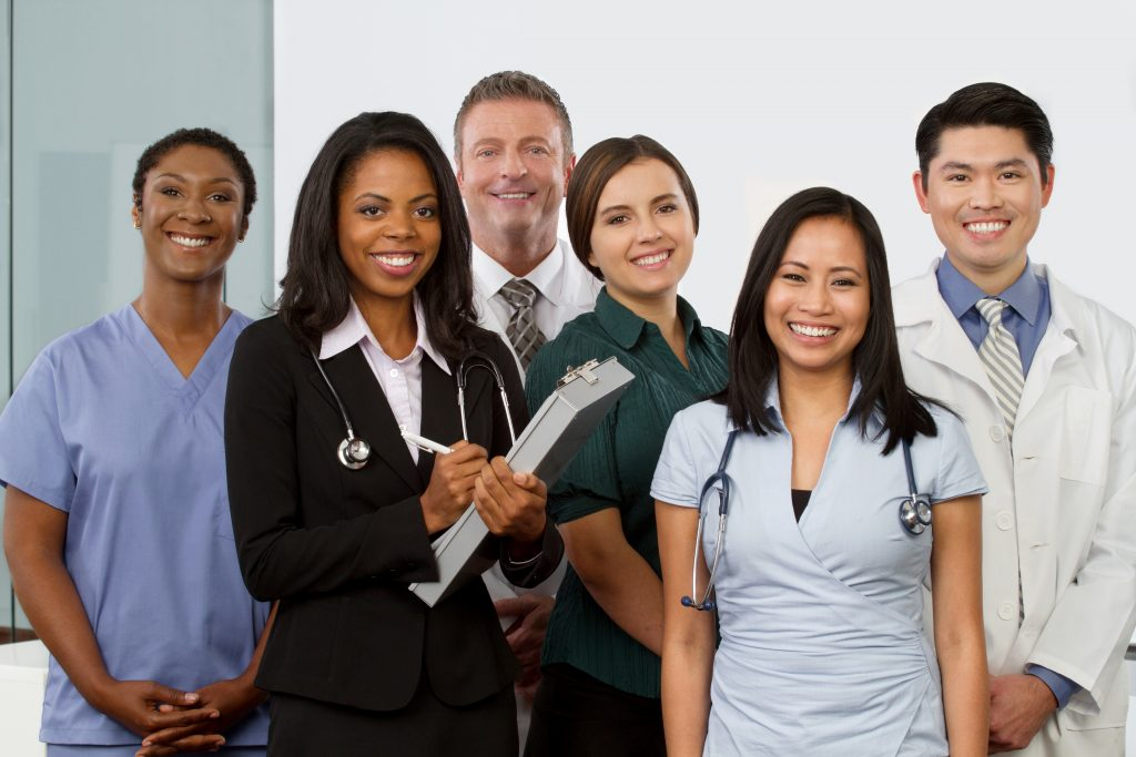 Health care workers and graduate healthcare workers